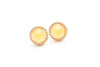 Solstice Mini Halo Stud Earrings