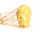 Gold Butterscotch Amber Bangle