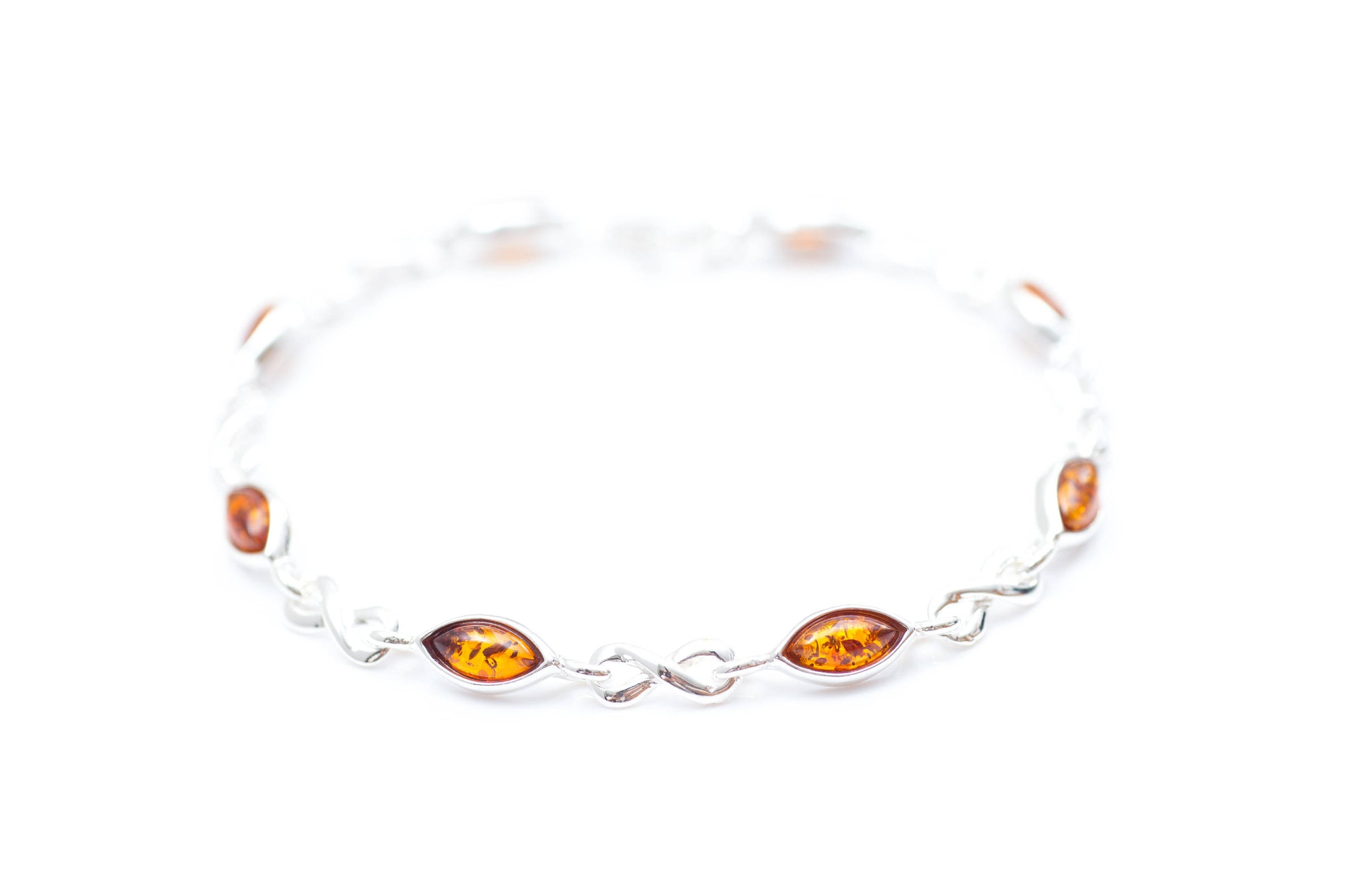 infinity sterling strawberry silver bracelet cream ladies gold sparkle plated en