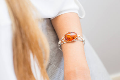 Unique Amber Arm Cuff