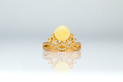 Solstice Royal Solitaire Ring