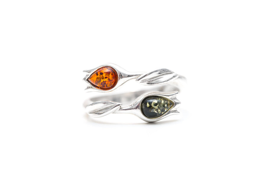 Two-Tone Tulip Jewellery Set