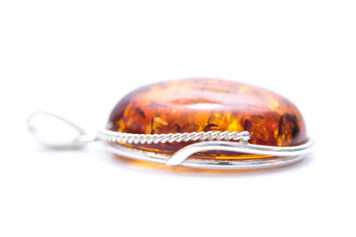 Rope Fram Statement Amber Pendant