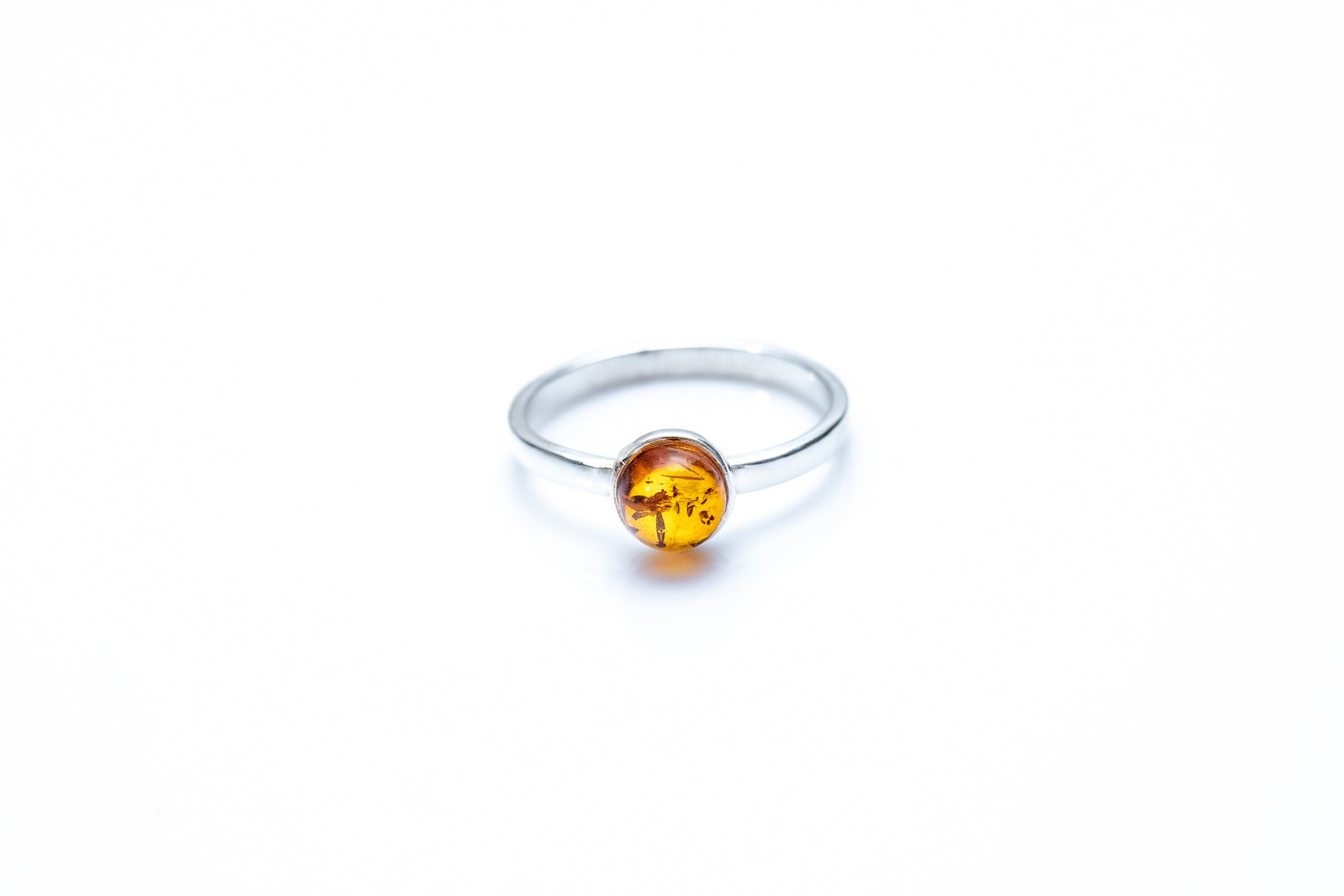 ESSENTIALS Mini Amber Stacking Ring