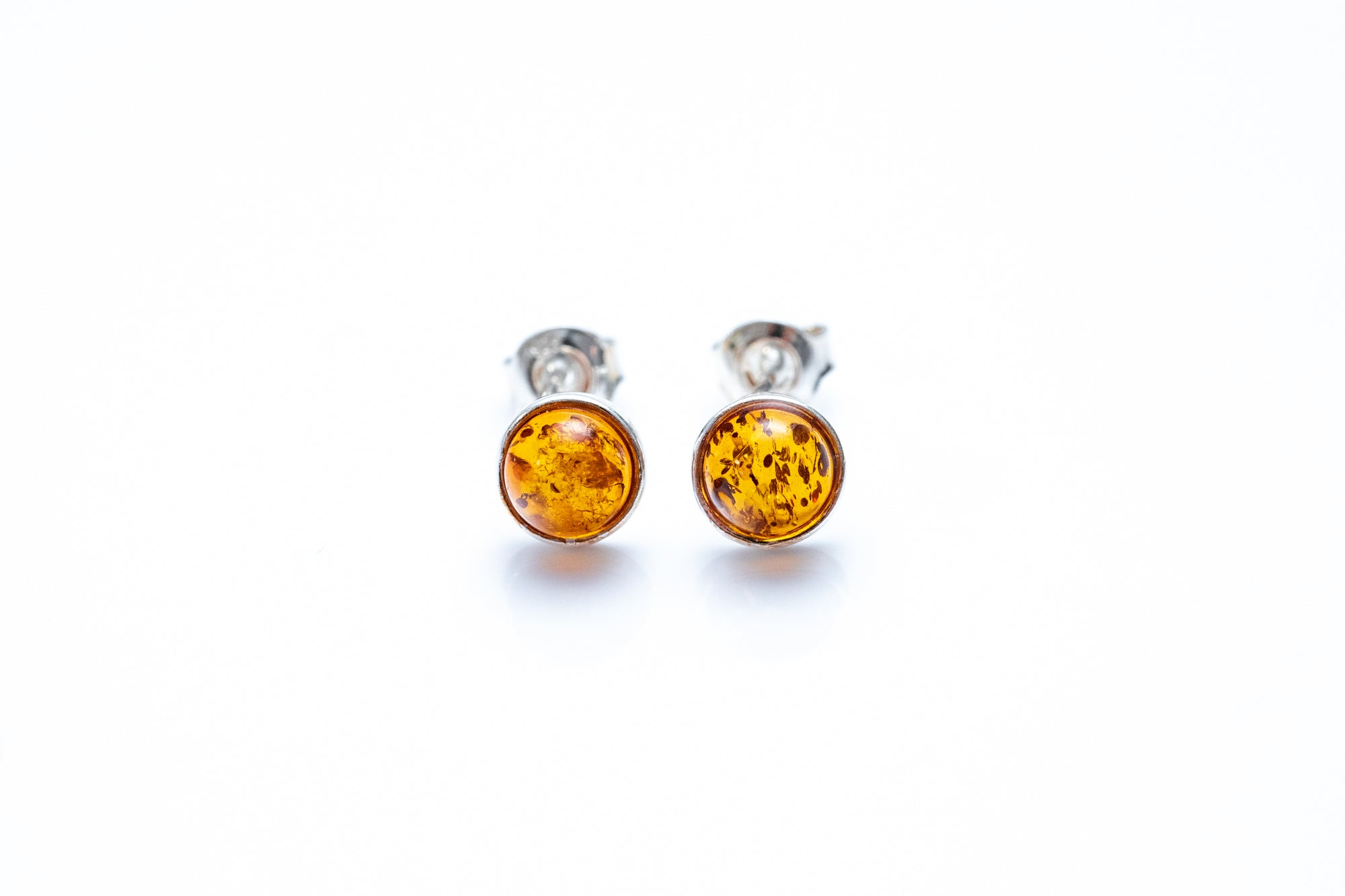 ESSENTIALS Mini Amber Stud Earrings