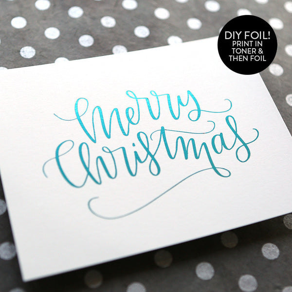 DIY Foil - Christmas 2016 Printables Bundle #1