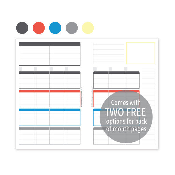 PlanThis Week-on-2-Pages Planner Pages - Original (Half-Letter)