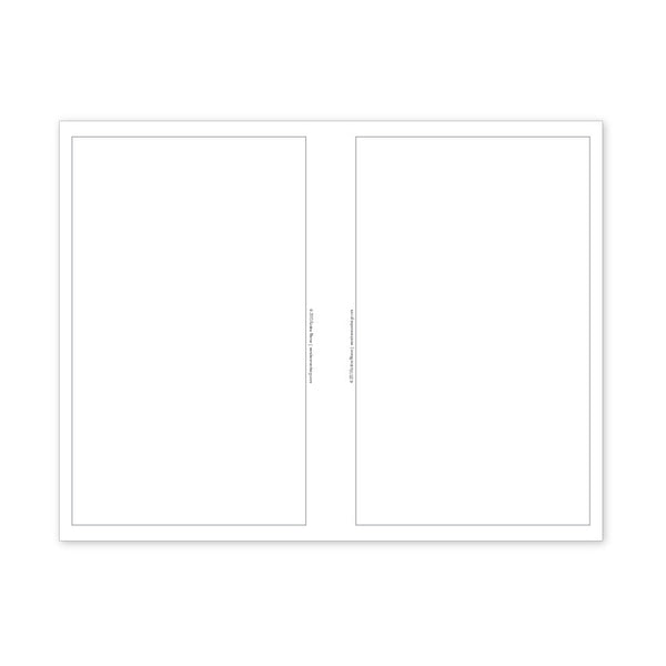 PlanThis Blank Planner Pages (Half-Letter)