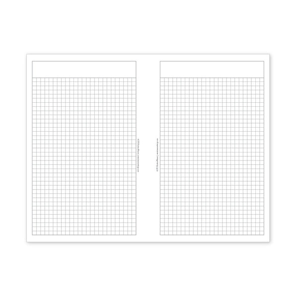 PlanThis Grid Planner Pages (Half-Letter)