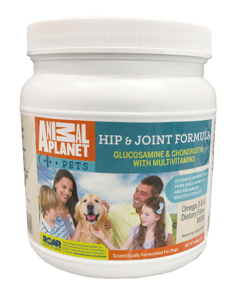 Animal Planet Hip and Joint Dog Food Supplement with Glucosamine and Vitamins