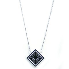 Reversible Necklace in Glam Rock