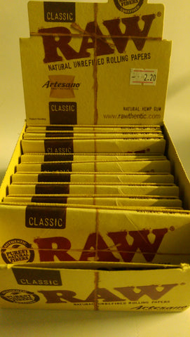 Raw Papers inc Tips & Tray (Artesano) - Headsupplies.co.uk  - 1