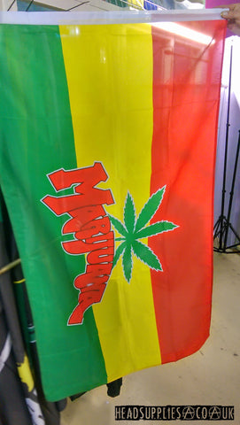 Marijuana Flag - Headsupplies.co.uk