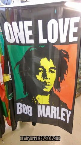Bob Marley - One Love - Headsupplies.co.uk