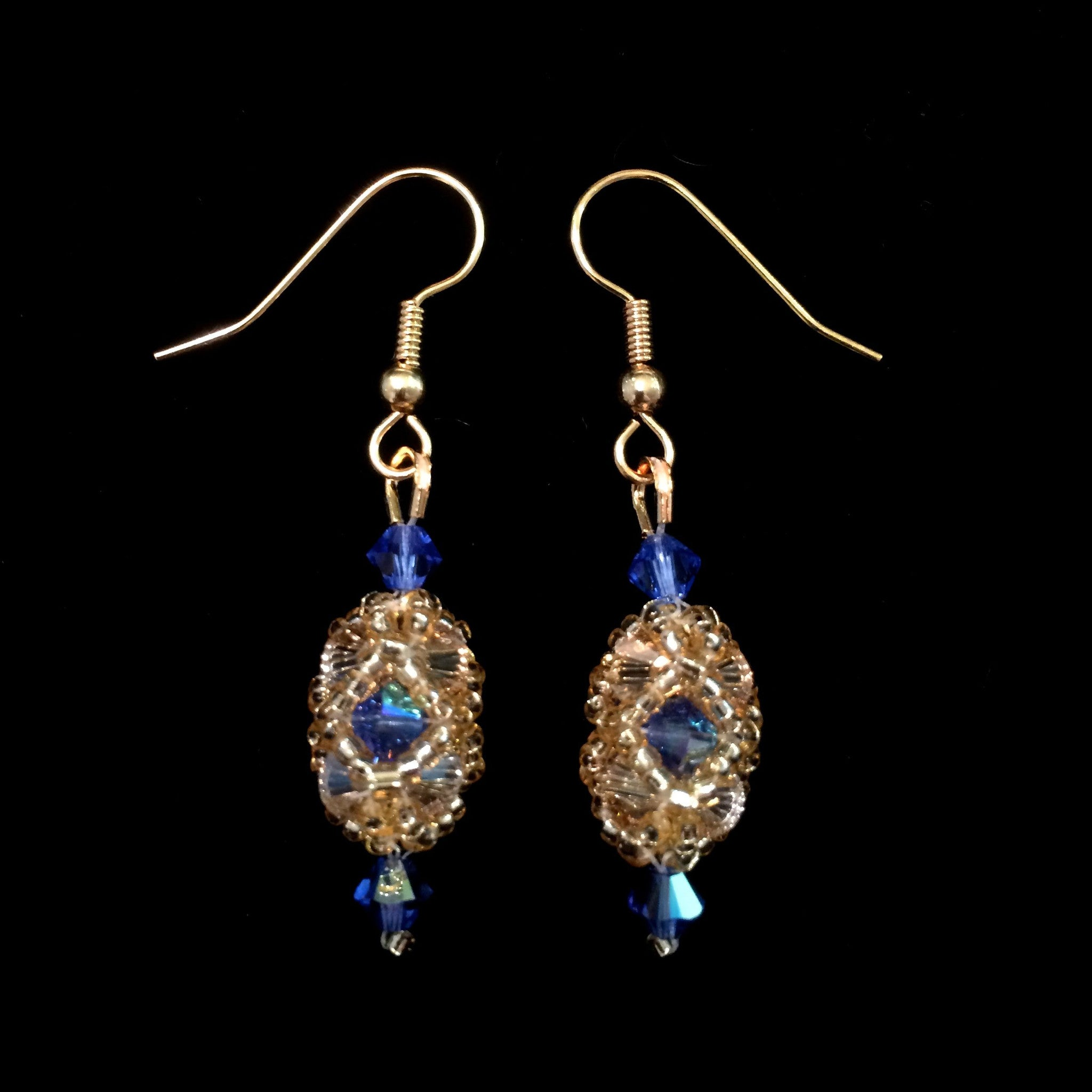 golden capturedgracesappgold shadow earrings sapphire swarovski grace captured closeup buzzy products