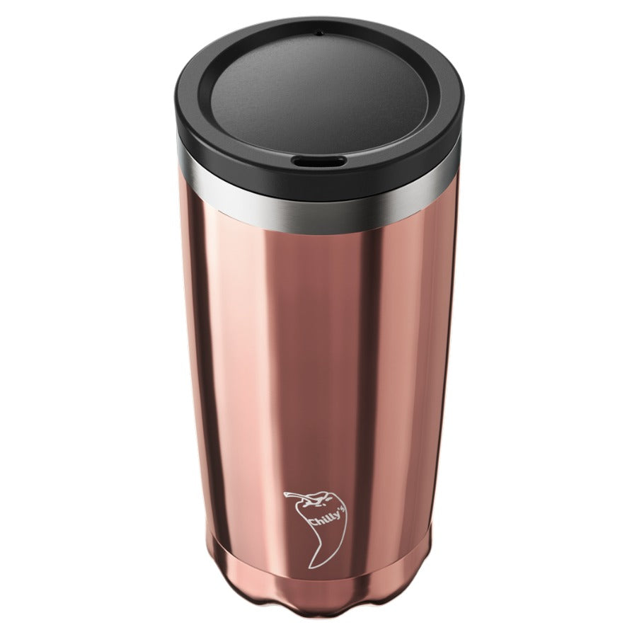 Coffee cup - Chrome Edition: ROSE GOLD, 500 ml