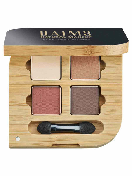 BAIMS - Eyeshadow Quad Palette, NATURELLE