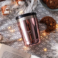 Coffee cup -  Chrome Edition: ROSE GOLD, 340 ml