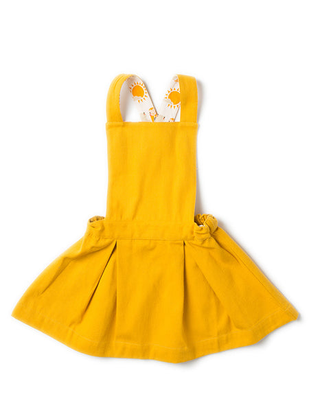 Little Green Radicals - Gold Pinafore KJOLE