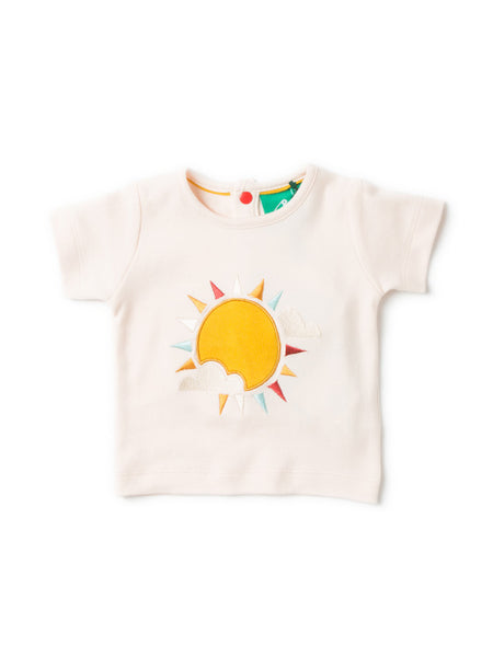 Little Green Radicals - Follow The Sun Applique TOP