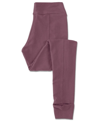 Soul Flower - Stirrup Eco-Friendly YOGA PANTS lilla