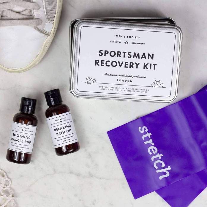 Personalised Sportsman RECOVERY KIT