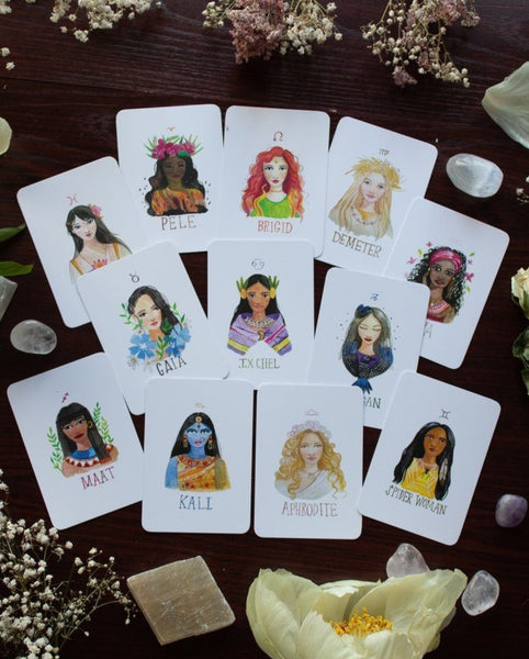 Affirmasjonskort - MOON GODDESS CARDS