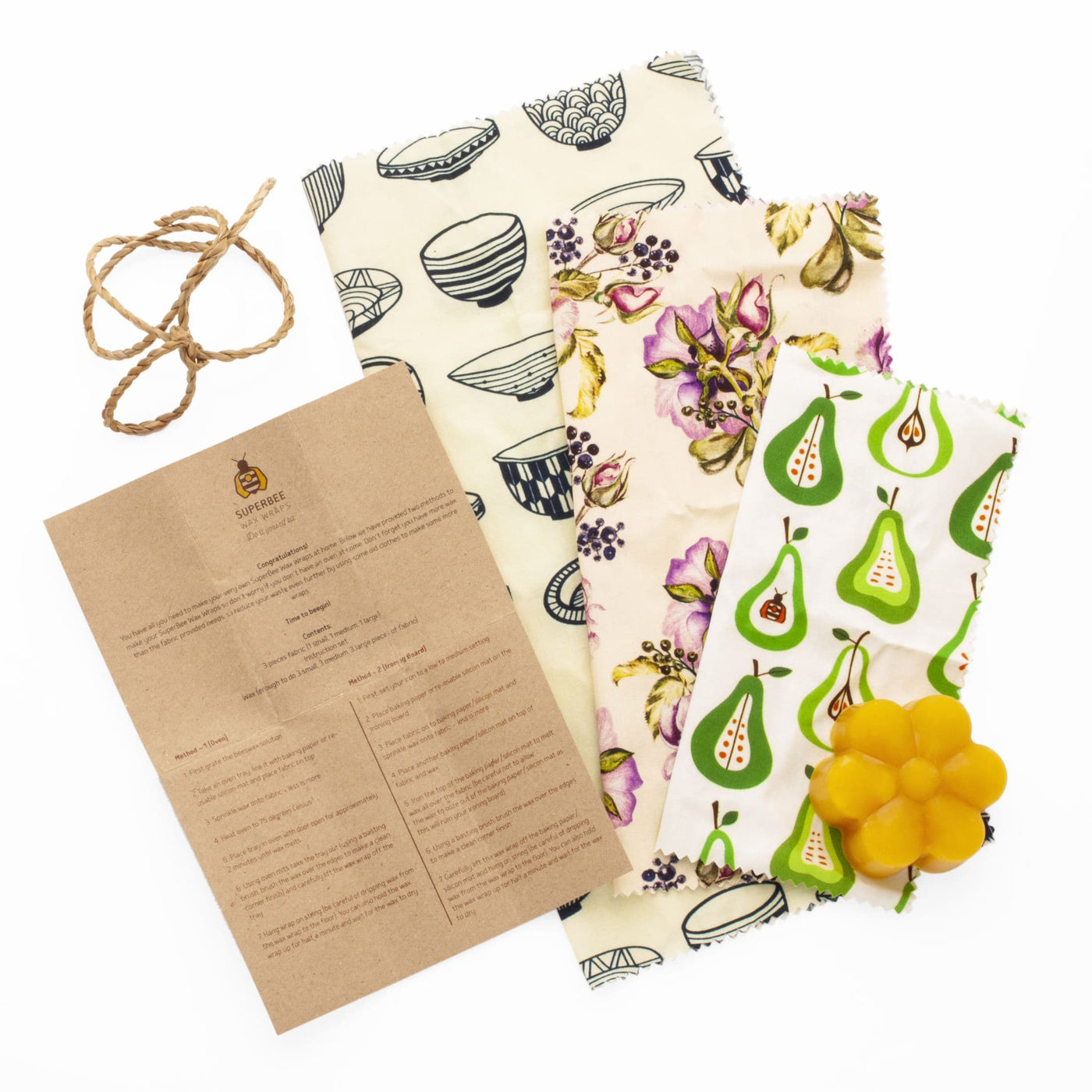 DIY Beeswrap KIT