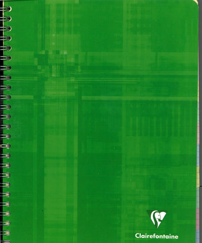 Twelve Subject Graph Notebook with Tabs