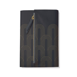 Charcoal Deco Clutch Journal