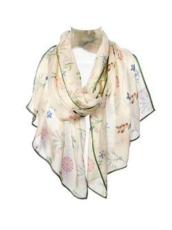 Shakespeare Love Silk Chiffon Scarf