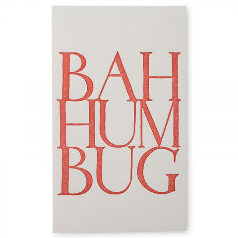 Bah Humbug Notecards