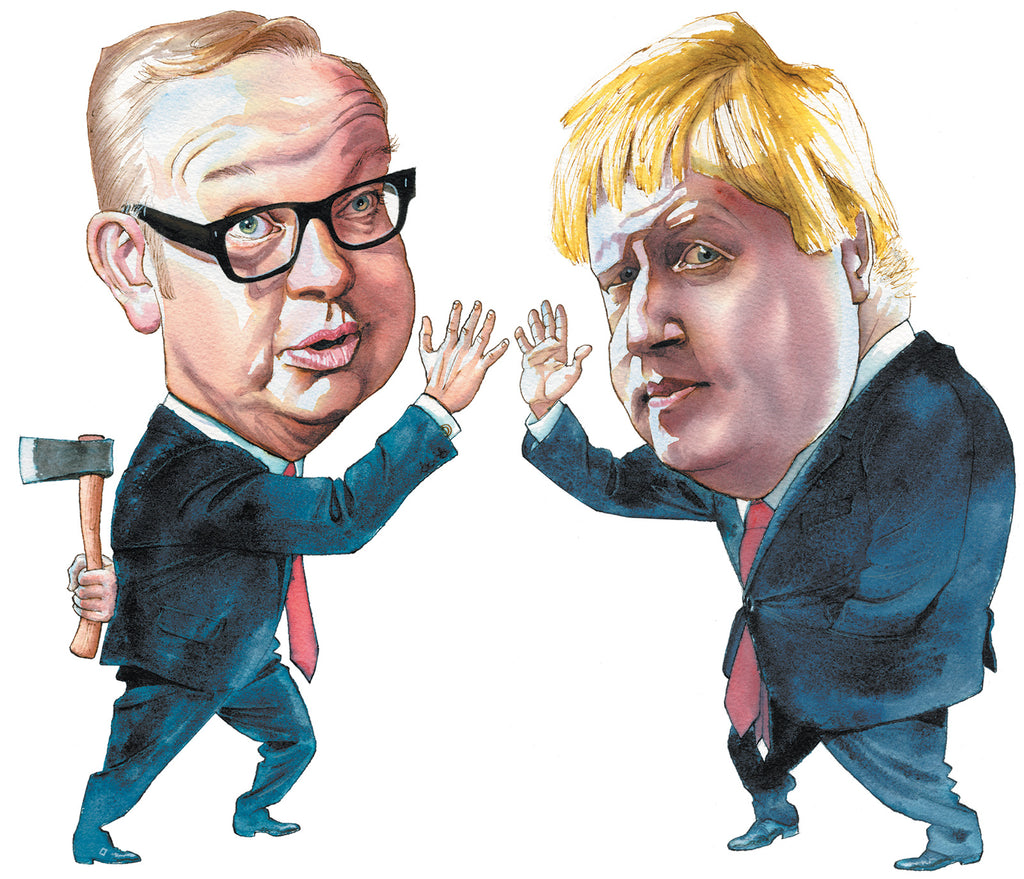 Michael Gove And Boris Johnson The Reader S Catalog Nyr