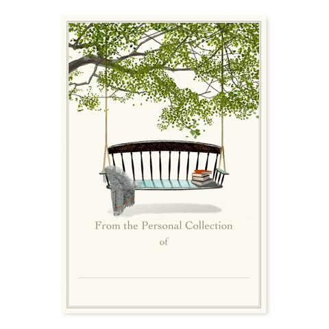 Swinging Bench Bookplate