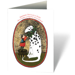 Gertrude Stein as a Child Holiday Cards