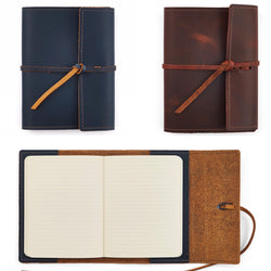 Writer's Log Refillable Notebook