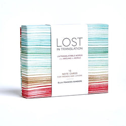 Lost in Translation Notecards