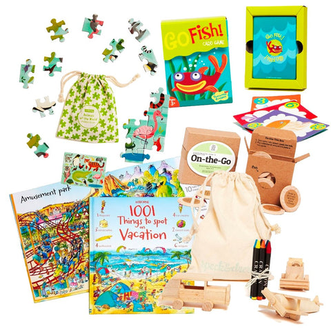 Activity Kit for Young Travelers (Ages 4–6)