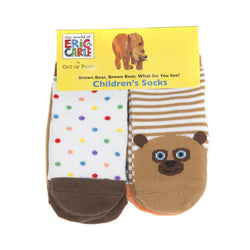 Brown Bear Socks