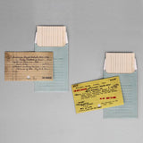 Card Catalog Notecards