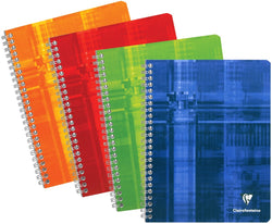 Classic French Notebooks—Spiral Bound- Size A5
