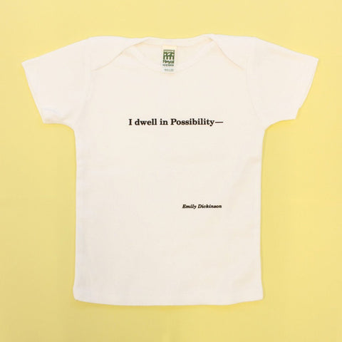I Dwell in Possibility Baby Tee