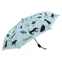 Edward Gorey Raining Cats and Dogs Umbrella