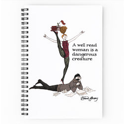 "Edward Gorey ""Well Read Woman"" Journal"