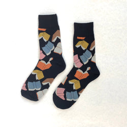 Flying Books Socks