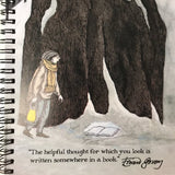 "Edward Gorey ""Helpful Thought"" Notebook"