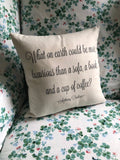 Anthony Trollope Pillow Cover - Script