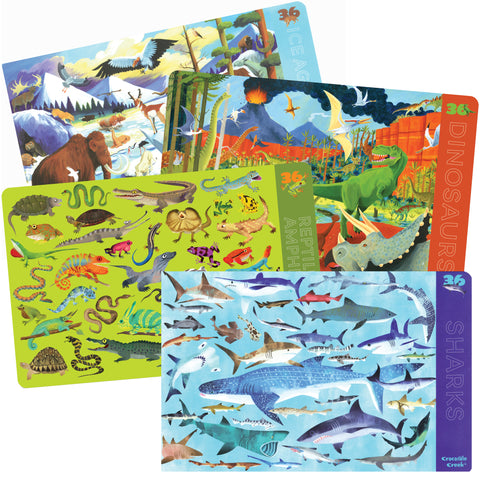 Learning Placemats Prehistoric