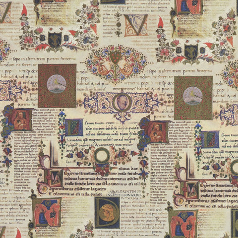 Illuminated Manuscript Wrapping Paper