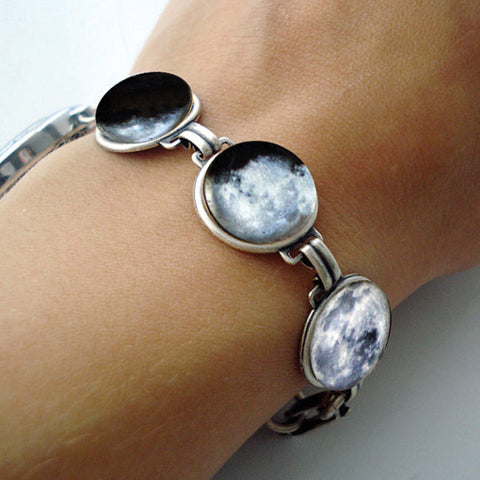 Phases of the Moon Bracelet